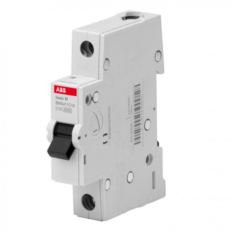 Автоматический выключатель 1-пол. SH201L 20А